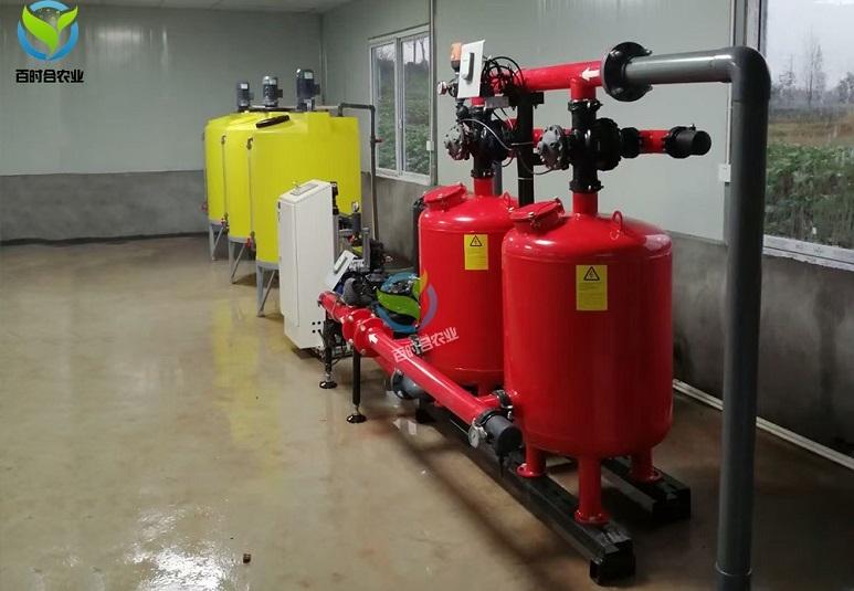 安徽合肥果园滴灌水肥一体化改造项目