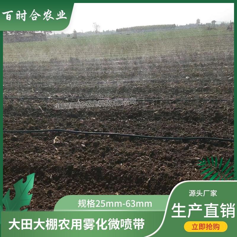 生产微喷带厂家 供应农业大田园林园艺灌溉工具3孔5孔7孔喷水带